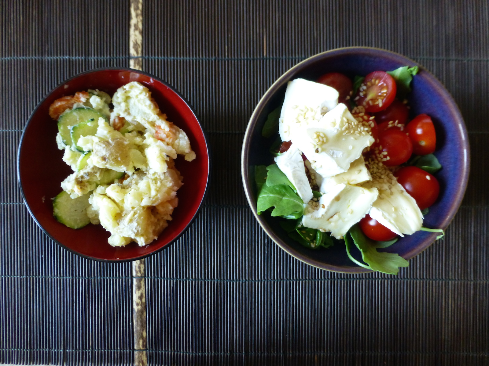 Japanese-style potato salad
