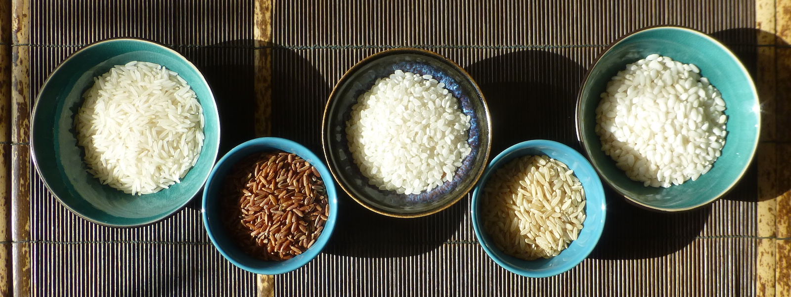My favourite types of rice